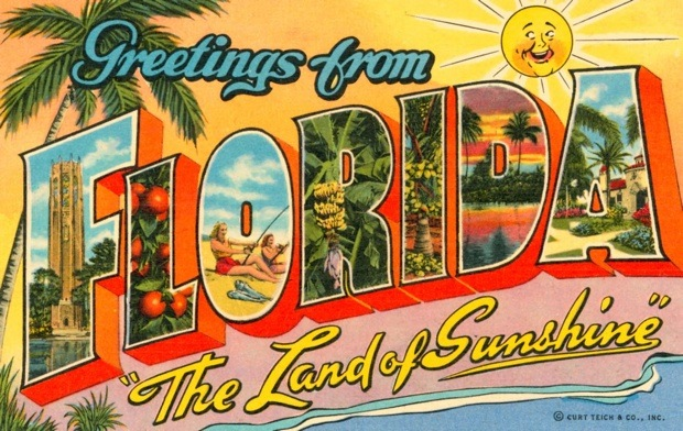 florida-vintage-postcards